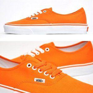 NWT Vans Neon Orange Sneakers size 6